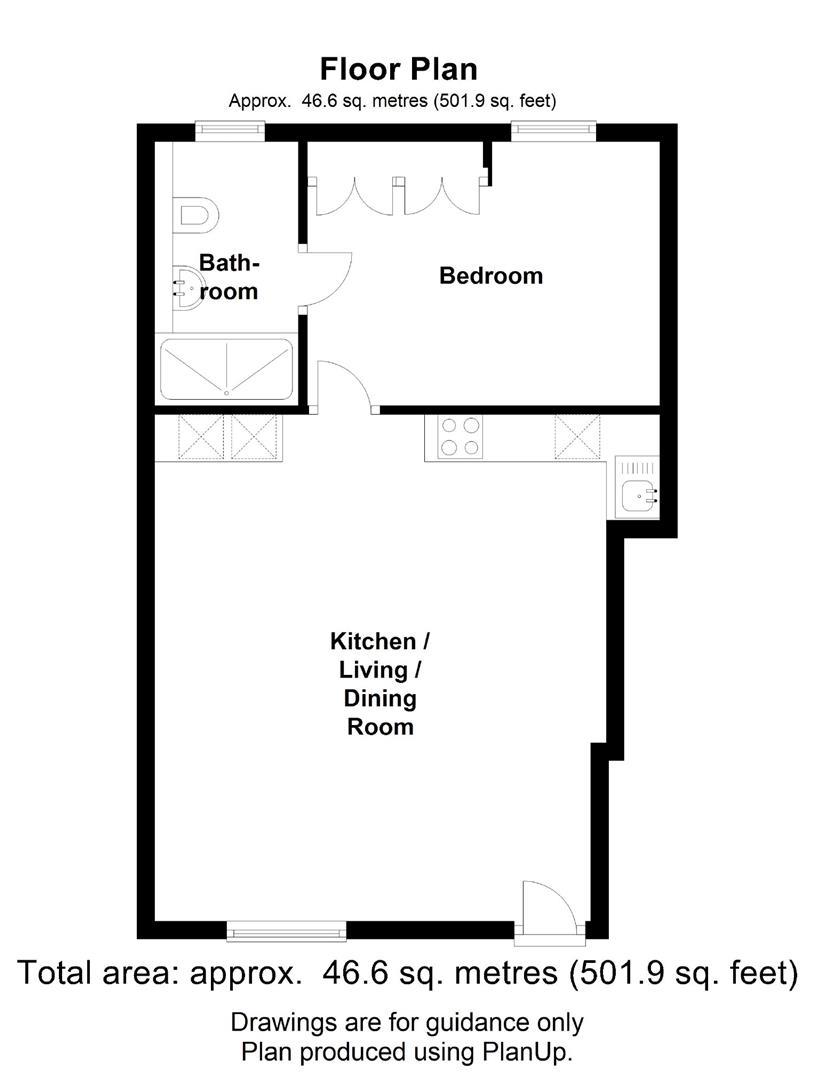 Floor plan The Mews, Mortlock Avenue, Cambridge